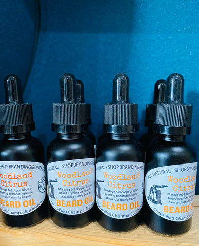 Branding Iron Signature Beard Oil [2 Scents]