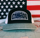 Hat, Snap Back, Hats, Established, Patch, Patches, Embroidery