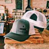 Come And Take It-Charcoal/White SnapBack Hat