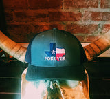 Texas Forever Snap Back Hat- Charcoal/Navy