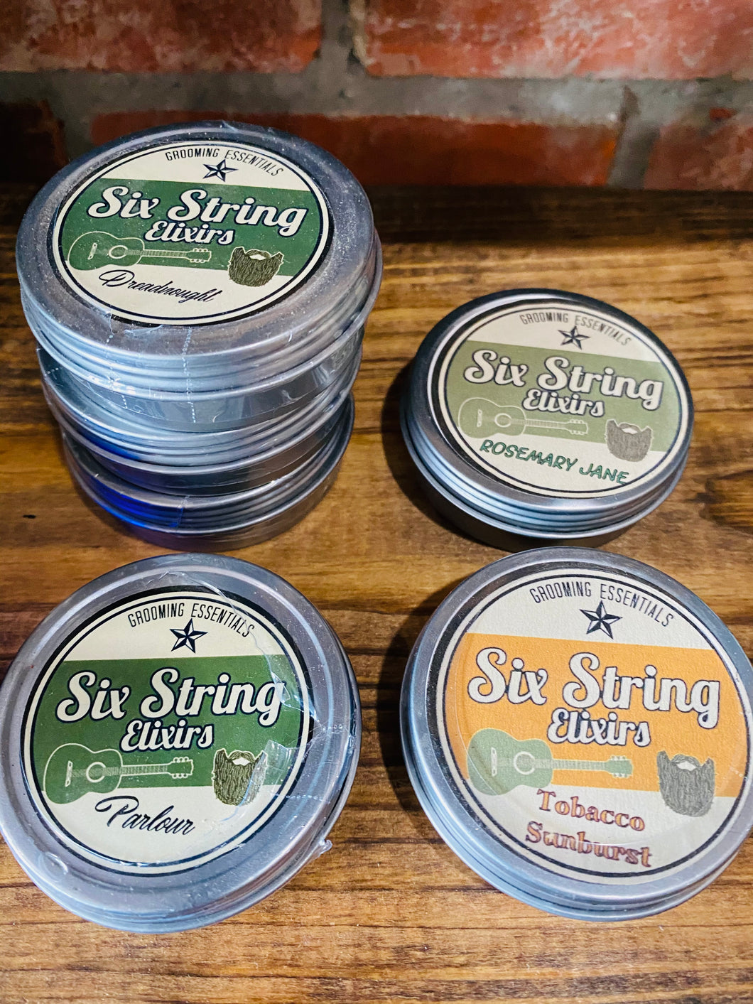 Six String Elixirs Beard Balm [4 Scents]