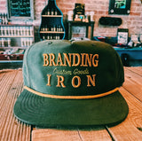 The General - Loden/Gold 5 Panel Snapback Hat