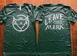 Branding Iron - Leave Your Mark - Tri-Blend Adventure Tee