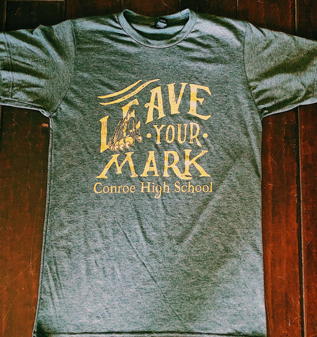 CHS Special Edition Leave Your Mark Unisex Tee [Adult & Youth]