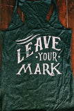Branding Iron - Leave Your Mark - Tri-Blend Adventure Tank