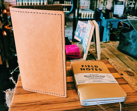 Leather Field Notebook [6 Colors]