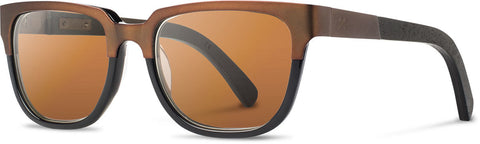Presscott Titanium Dark Walnut Sunglasses
