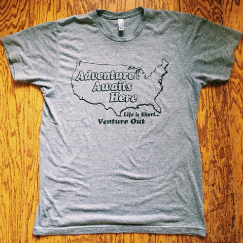 Venture Out Tee - Proudly Made in the USA