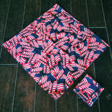 merica, 'merica, america, bandanna, head band, usa, made in america, handkerchief, pocket square, winning