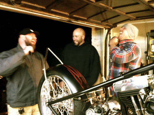 Jim Wendler laughing with friends