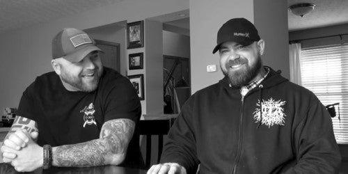 Jim Wendler and Jason Pegg