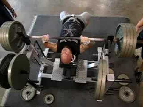 Struggling with the Bench Press
