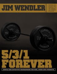 5/3/1 FOREVER - JIMWENDLER.COM - TRAINING FOR SIZE, SPEED AND STRENGTH