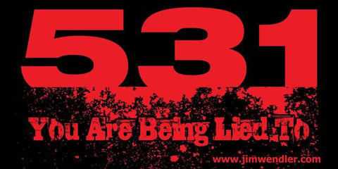 5/3/1 You Are Being Lied To Banner by Jim Wendler