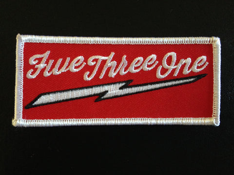 531 Patch.  Iron On or Sew On Patch