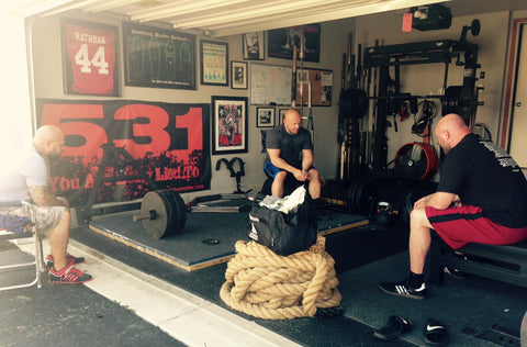 Jim Wendler Home Gym