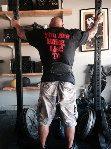 Jim Wendler You Are Being Lied To Shirt