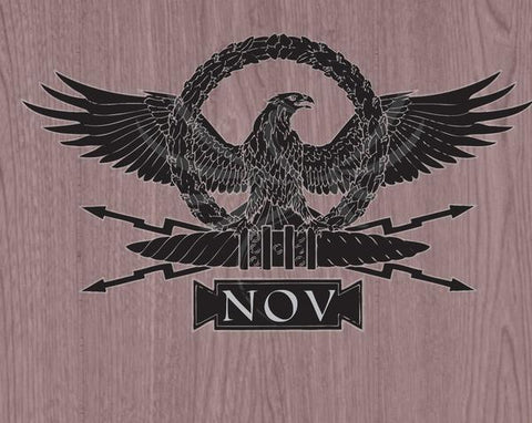 NOV Eagle Decal by Jim Wendler
