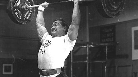 Old School Overhead Press