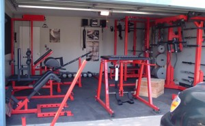 chalk music and plates  building your home gym