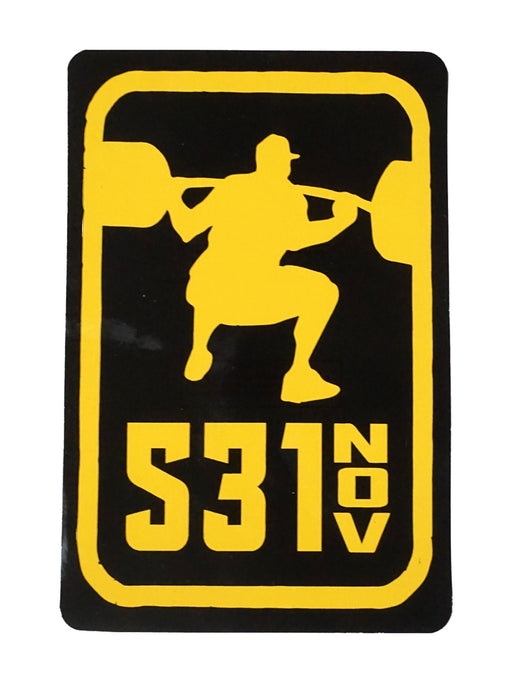 5/3/1 Squat Sticker