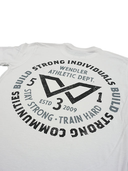 Strong Individuals Shirt White w/ Black and Grey