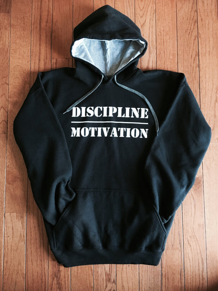 Discipline Over Motivation Hoodie - JimWendler.com