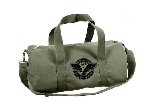 Never Surrender Duffle Bag - JimWendler.com