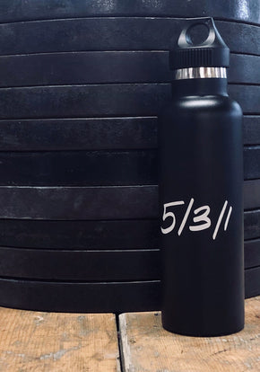 Lift Hard Live Hard 25oz. Bottle - JimWendler.com