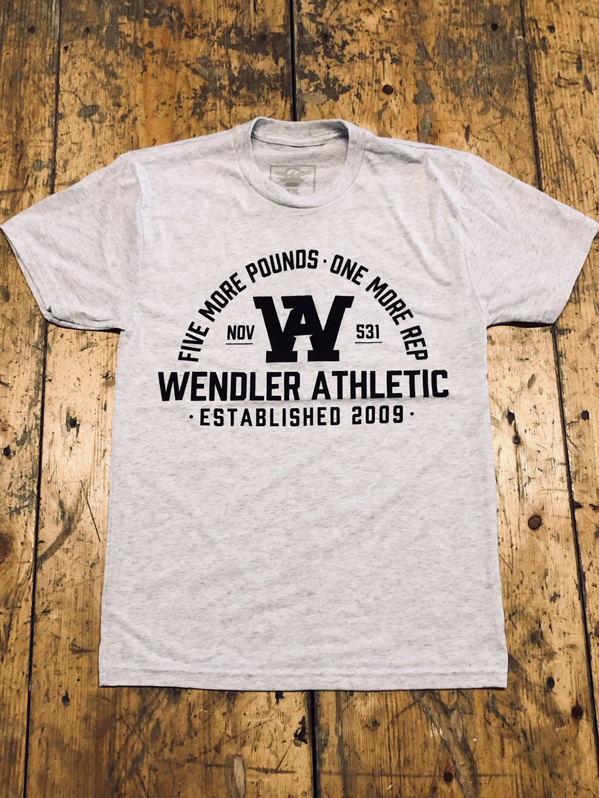 1 More Rep Shirt - JimWendler.com