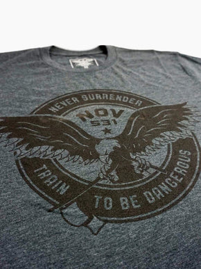 Never Surrender Shirt - Grey
