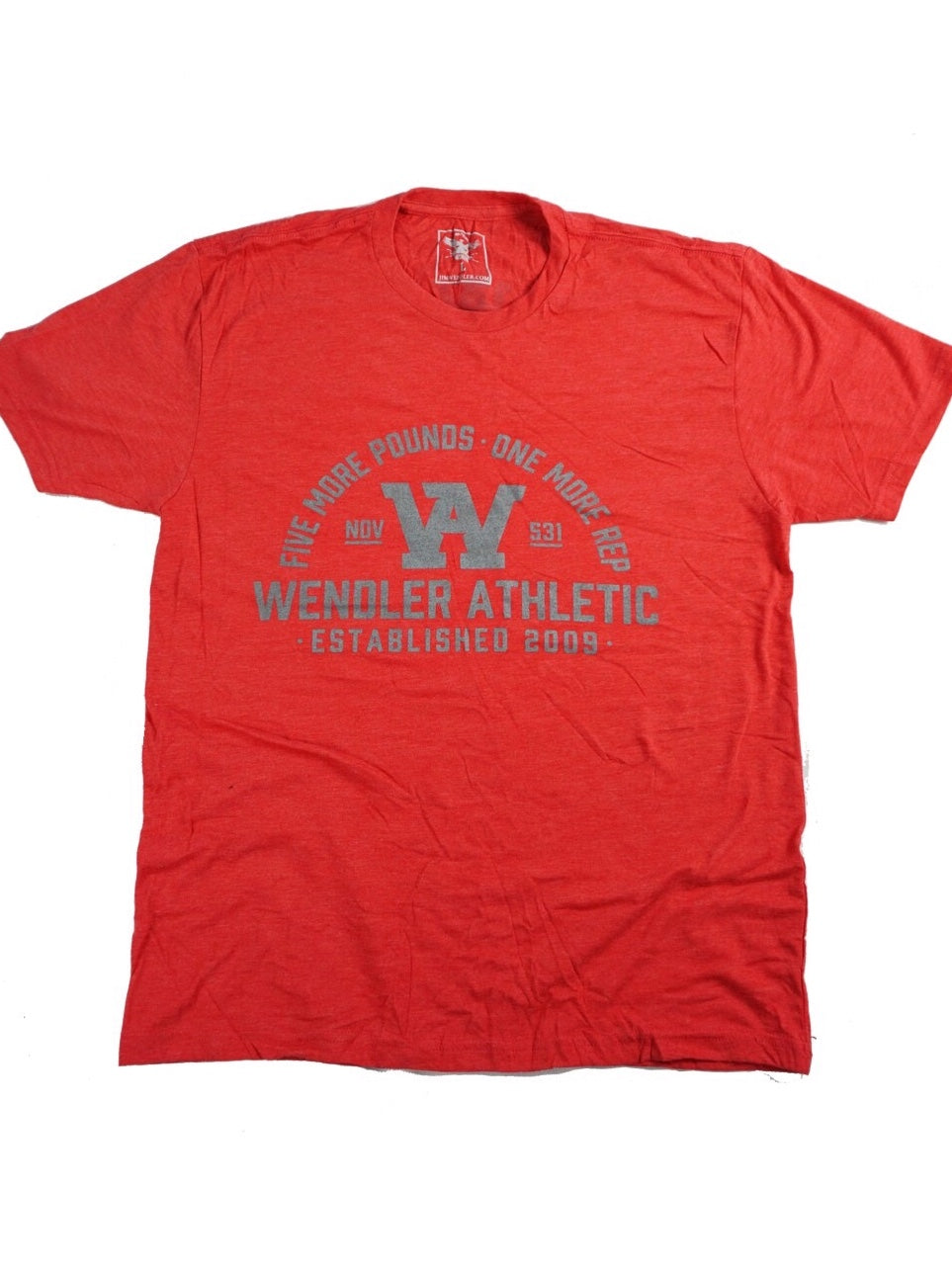 1 More Rep - Red Shirt