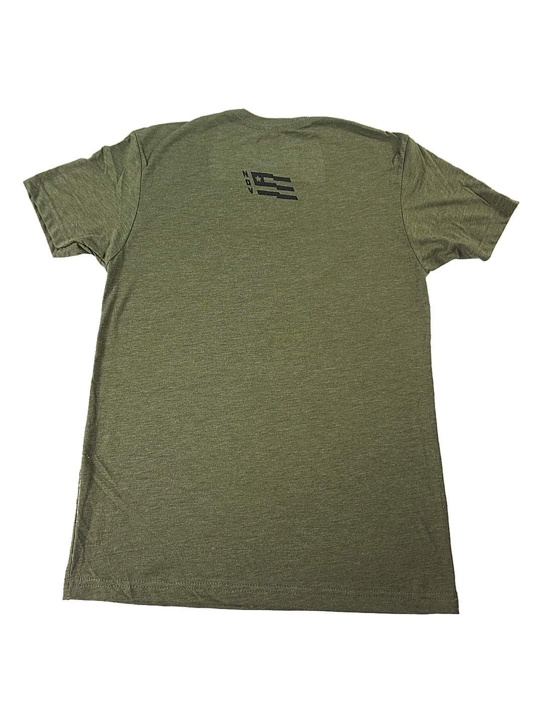 Limited Edition - Live Free Shirt - Army Green