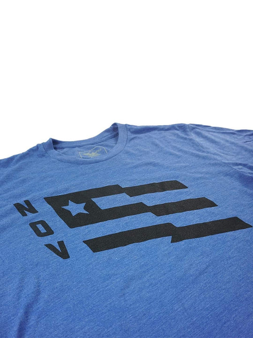 N.O.V. Flag Shirt - Blue