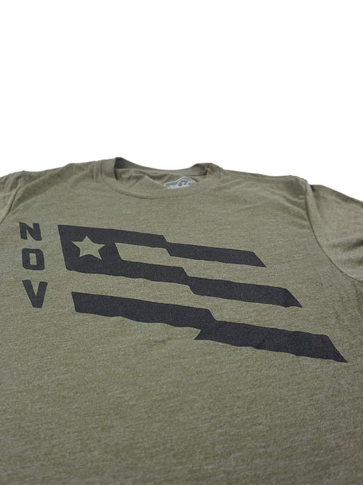 N.O.V. Flag Shirt - Army