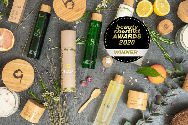 Gaia Skincare named Best Spa Brand