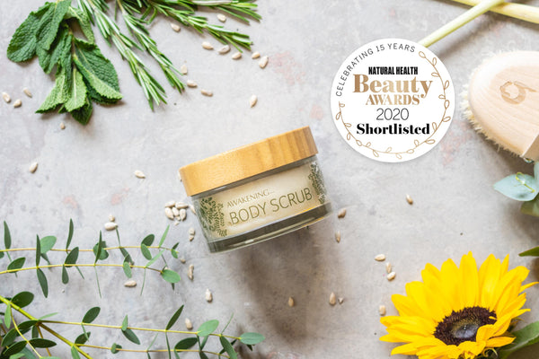 Gaia Shortlisted in the Natural Health Beauty Awards 2020
