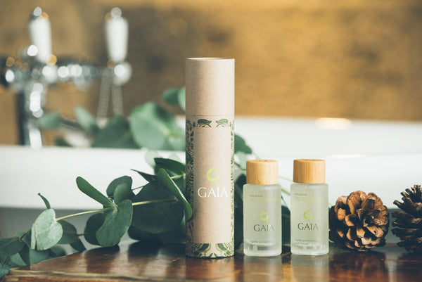 Gaia Gift Set Bath Oil