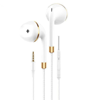 TrendCabin Gold Wired Stereo Earbuds