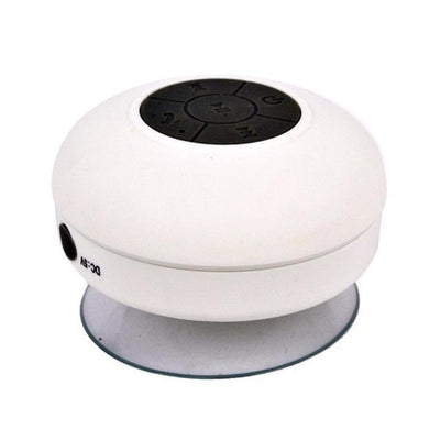 TrendCabin White Bluetooth Shower Speaker