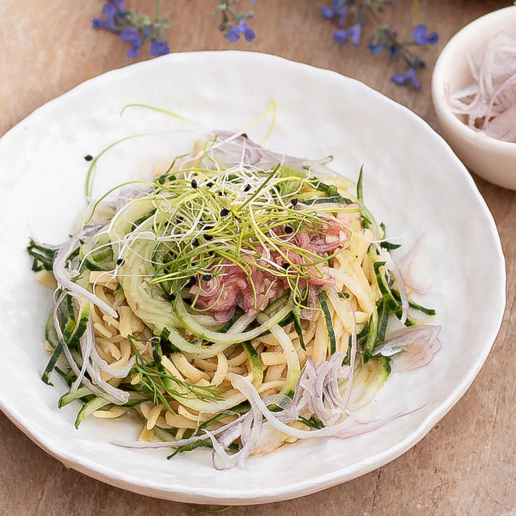 Cucumber Dill Noodle Salad