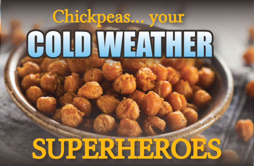 Chickpeas - Your Cold Weather Superhero