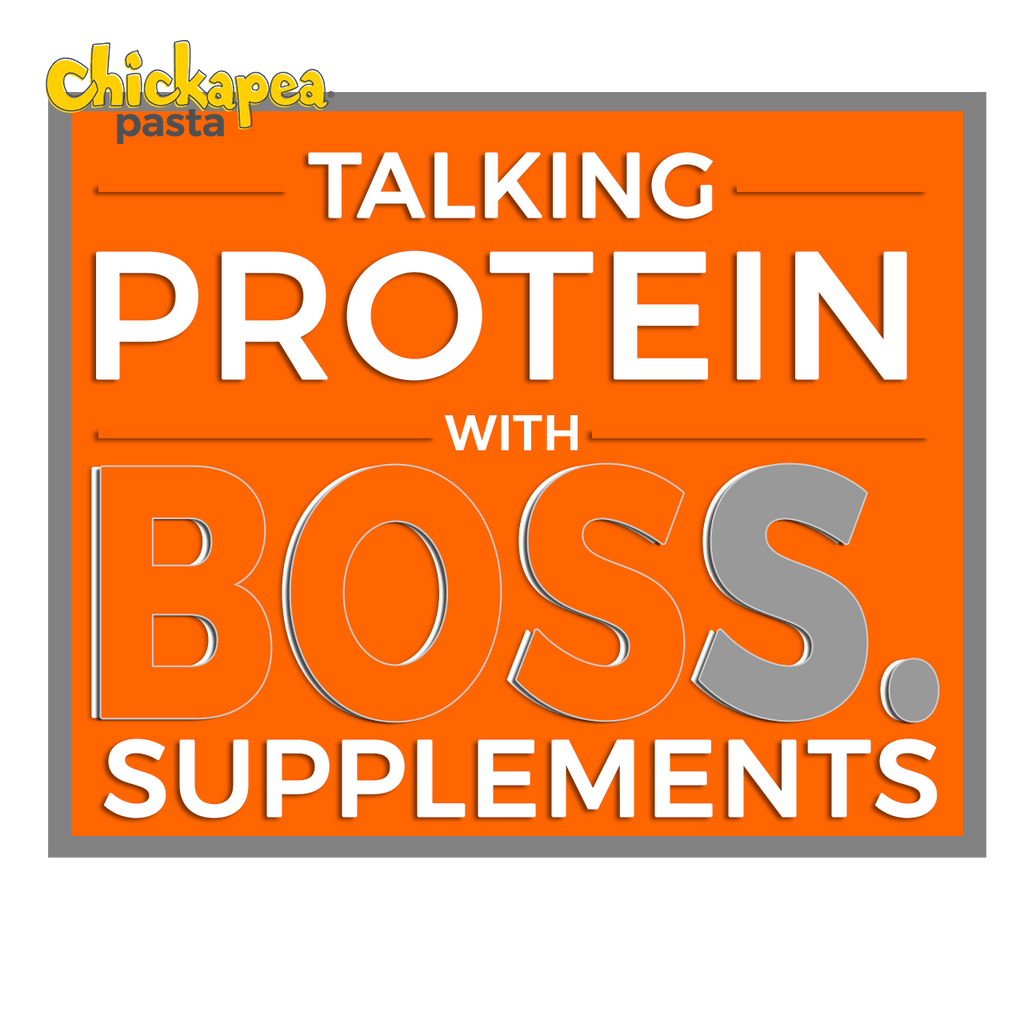 Chickapea Pasta Talks Potein with Matt Gullia from Boss Supplements!