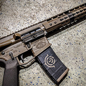 EDC Tactical SCOUT Custom AR-15 Rifle Custom Engraving, Stencil and Cerakote