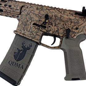 EDC Tactical Custom Build in 300 Blackout with Custom Engraving, Stencil and Cerakote