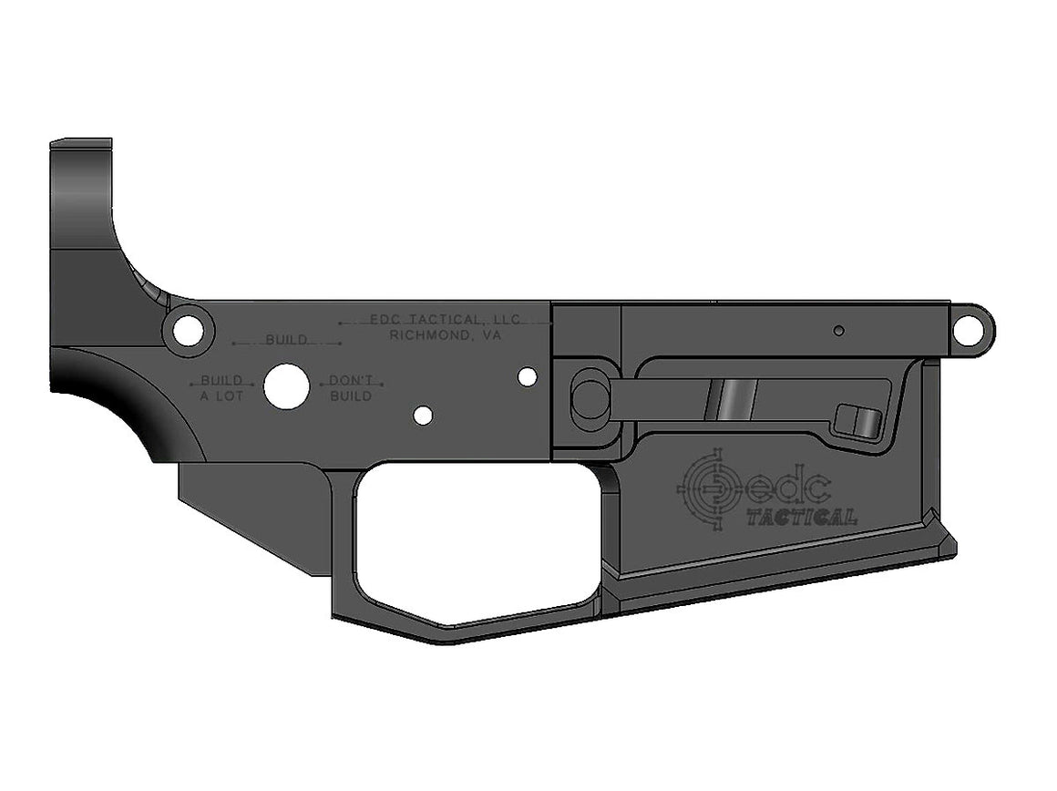 EDC Tactical - AR15 Builder's Group NEW - EDC-9 - Driver Side - Render
