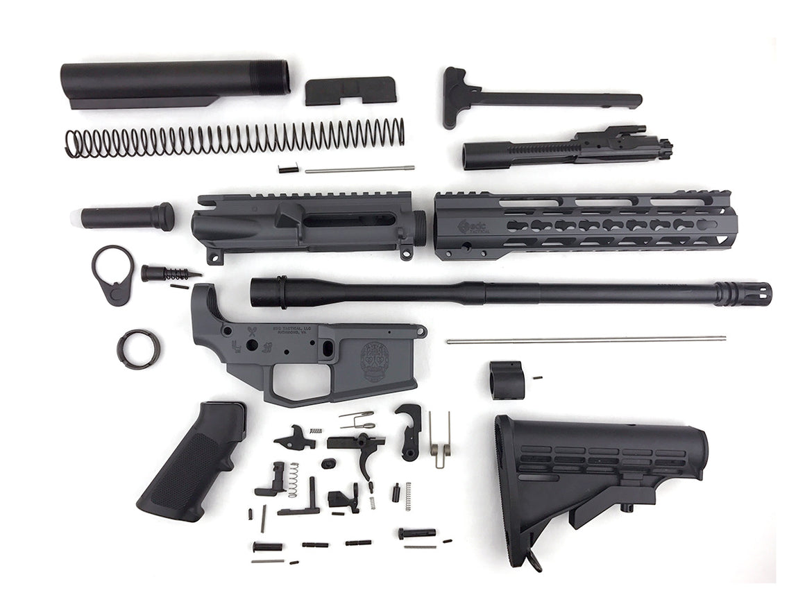 EDC Tactical AR-15 Rifle Builder's Set - SNIPER GREY CERAKOTE