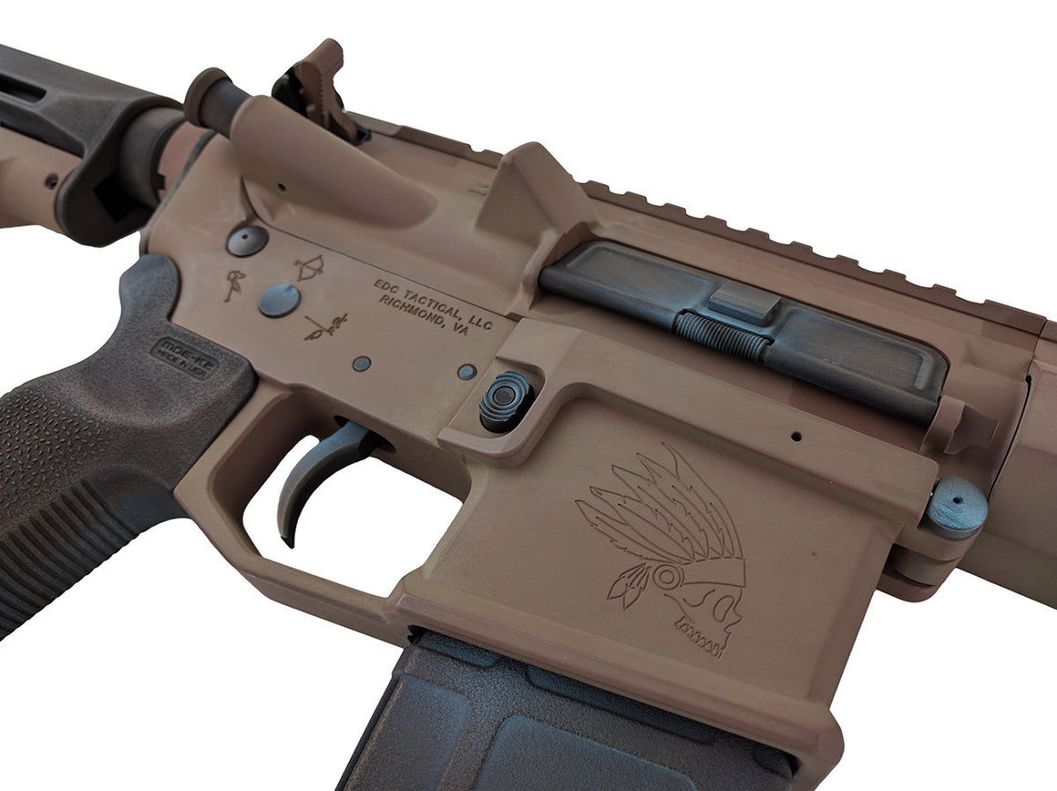 THE CHIEF AR-15 Rifle Passenger Side - Custom Shop One-Of-A-Kind
