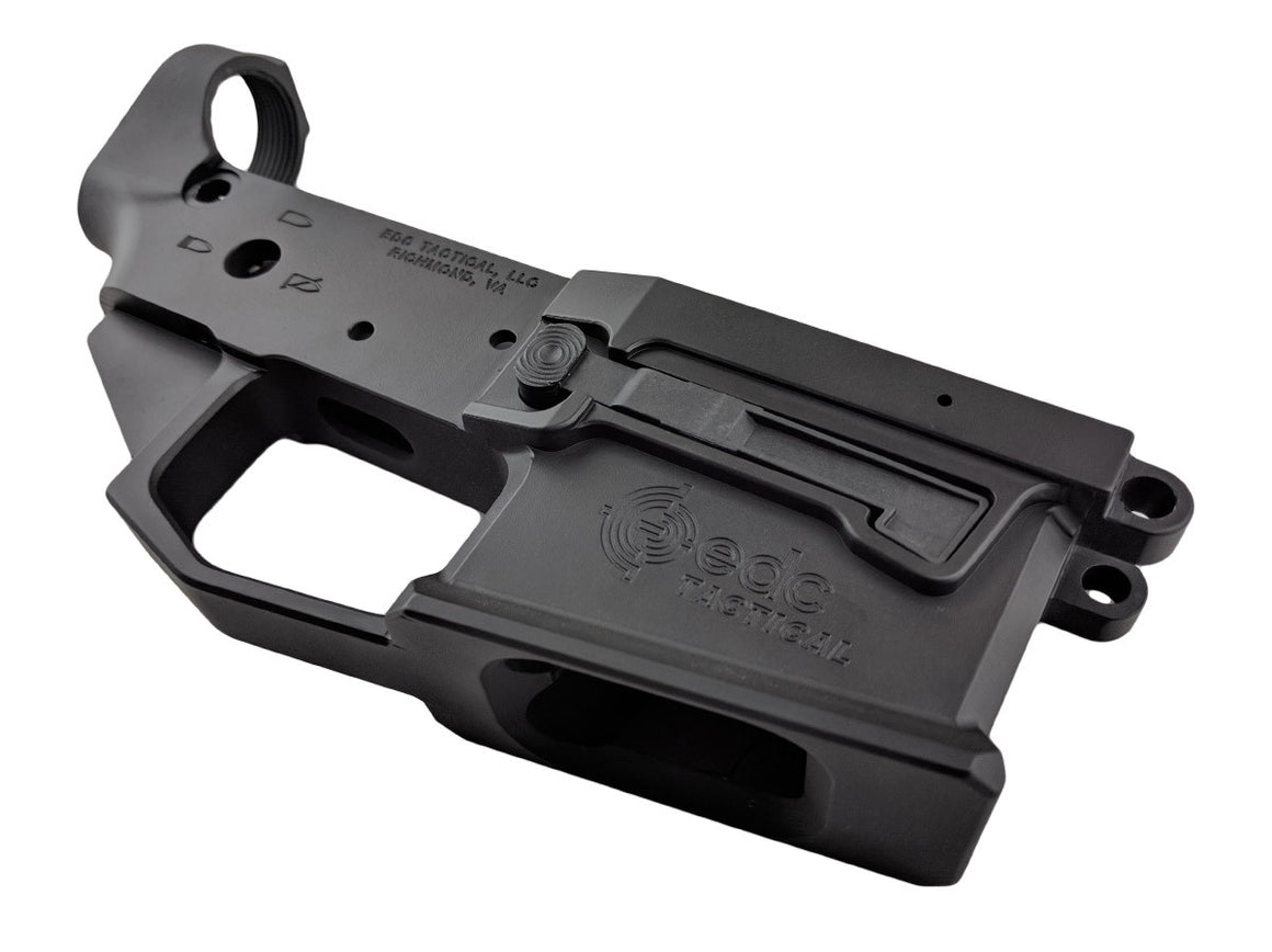 EDC Tactical EDC-9 Billet Lower Receiver Passenger Side - GRAPHITE BLACK CERAKOTE