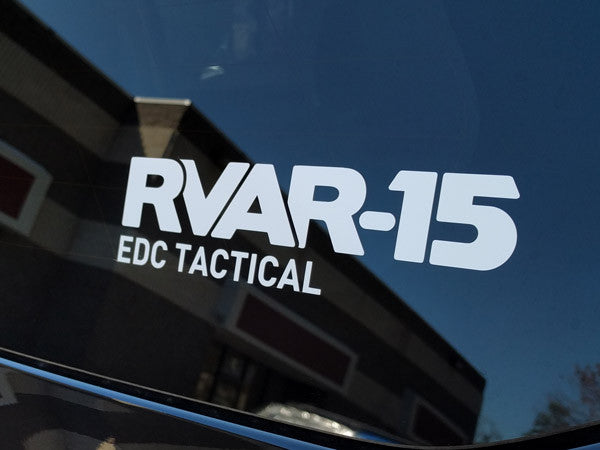 RVAR-15 EDC Transfer Sticker